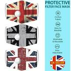 Face Mask Covering Reusable Washable UK Flags Mouth Cover Protection Breathable
