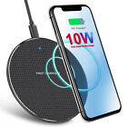 Wireless Fast Charger Charging Pad Lot Qi for iPhone Samsung Android Cell Phone