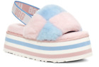 UGG Disco Checker Slide Pride Stripes Slipper Women's US sizes 5-11/NEW