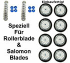 4/8er HYPER XTR 90mm Op. Kugellager ABEC7+Spacer 8mm Rollerblade Salomon Skate