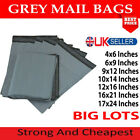 GREY MAILING BAGS STRONG SELF SEAL POLY POSTAL POSTAGE POST MAIL WHOLE SELLER