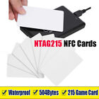 NFC Cards White Blank NTAG215 Chip Tags Waterpoof 504Bytes IC Cards TagMo Amiibo