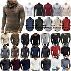Mens Winter Warm Knitted Sweater Sweatshirts Casual Pullover Jumper Tops Autumn