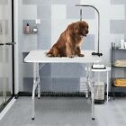 36In Hydraulic Pet Dog Grooming Table With Adjustable Arm Drying Table