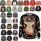 * Unisex Sweater Pullover Womens Men Ugly Casual Loose ▪ Sweatshirt