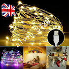 '10/20/30 Led Battery Micro Rice Wire Copper Fairy String Lights Xmas Party White