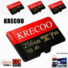 KRECOO 275MB/s Micro SD Card 256 128 64GB Extreme Pro Ultra Memory Cards TF Card