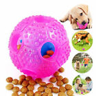 PET CAT DOG CHEW TEETHER FOOD LEAKAGE DISPENSE BALL INTERACTIVE TOY FILL