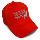 Dad Hats for Men West Highland Terrier Mom Dog Embroidery Women Baseball Caps