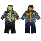 Columbia Boy's Camo Outgrown Frosty Slope 2PC Jacket & Bib Winter Set