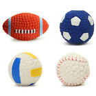 Puppy Interesting Tennis Football Teeth Cleaning Tool Pet Dog Toy Ball Squeaky
