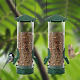 Twinkle Star Classic Tube Bird Feeder, Outdoor Hanging Bird Feeder with Metal & photo