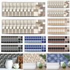 3d Mosaic Pattern Self-adhesive Kithchen Bathroom Wall Tile Stickers Home Decor