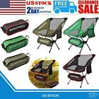 Ultralight Folding Camping Chairs Luxury Padded High Back 900D Outdoor Chair US