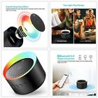 Bluetooth Speaker with Colorful Lights, Axloie Speakers Bluetooth Wireless with