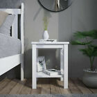 High Gloss Front 2 Drawers LED Bedside Table Cabinet Nightstand Sideboad Unit