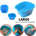 Large Foot Spa Soak Tub Foot Bath Basin Home Pedicure Feet Soaking Massager Tub