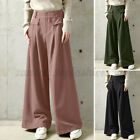 Women's High Waist Long Pants Oversized Full Length Loose Lounge Trousers S-5XL