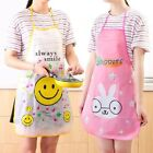 Cute Animal Apron Cooking Baking Painting Art Craft Cleaning Children Kids Girls