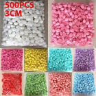 500 Mini Foam Artificial Roses Buds Fake Flowers Wedding Diy Party Home Decor
