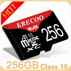 New 64GB/128GB/256GB UHS-1 Class 4 U3 TF Flash Memory Card for Phone Tablet USA