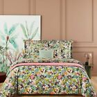 UTOPIA BY YVES DELORME FRANCE -ORGANIC COTTON SATEEN DUVET COVER, TROPICAL PRINT