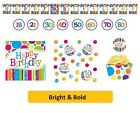 BRIGHT & BOLD Birthday Party Range - Tableware Balloons Banners & Decorations