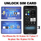 Turbo unlock Chip Sim Card For Apple iPhone 12/11/XR/8/8 Plus/7/6S Plus