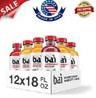 Bai Flavored Water, Antioxidant Infused Drinks, 18 Fluid Ounce Bottles, 12 Count
