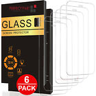 6-PACK For iPhone 12 11 Pro Max XR X XS 8 7 Plus Tempered GLASS Screen Protector