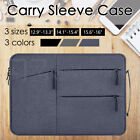 """Waterproof Laptop Sleeve Carry Case Cover Bag Macbook Lenovo Dell Hp 13"""" 15"""" 16"""""""