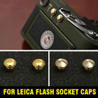 2 x Flash Socket Caps for Leica M1/M2/M3/MD, Flash Socket Cover