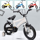 """14"""" Kids Boys&Girls Child's Bike Bicycle With Training Wheels Safety Triangle"""