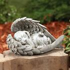 Angel Sleeping Dog Cat Memorial Statue Resin Pet 1 pcs