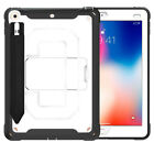"""Hybrid Rubber Shockproof Stand Pencil Holder Case For iPad Air 2 / Air 3 10.5"""""""
