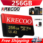 256GB/128GB Memory SD Card 4K Class10 High Speed Flash Card Memory Micro TF Card