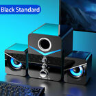 LED Home Theater Bass Subwoofer Computer Speakers Music For Desktop Laptop PC TV
