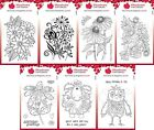 Woodware Clear Stamps - Flowers or Fuzzy by Francoise Read - Creative Expression