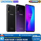 Mobile Phone 4gb 64gb 8 Core Cell Phone 4350mah 6.3'' Smartphone Doogee Y9 Plus