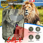 1080P Outdoor Wildlife Waterproof 12MP Infrared Hunting Trail Scout Camera D4R6