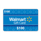 $100 Physical Gift Cards - Standard 1st Class Mail Delivery - Authentic For Sale