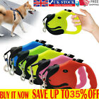 Durable Retractable Dog Leads Nylon Lead Extending Walking Puppy Running Leashs