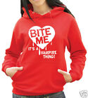 Bite Me - Vampire Thing Hoody - Twilight New Moon (931)