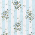 COTTON DRESS BEDCLOTHES FABRIC SHABBY PINK FLORAL STRIP