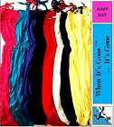 2-14 Years Soft Jumpsuit Full Length No Pattern Red/Pink/Black/Yellow/Blue/White