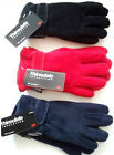 6-13 years KIDS/CHILDRENS WARM 40gsm THINSULATE FLEECE GLOVES Multi