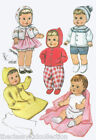 Vintage Baby Doll Clothing  Pattern #8125