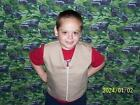 """4 to 8 pound WEIGHTED VEST 2-16 """"BLUE/TAN/BLACK""""autism"""