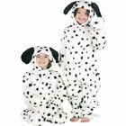 childrens kids 101 DALMATION DALMATIAN onesie  fancy dress costume ages 3-12yrs