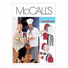 McCall's 2233 Sewing Pattern to MAKE Chef Whites Jacket Trousers Apron Hat